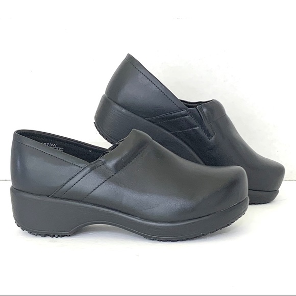 Crews Shoes | Clogs Black Leather